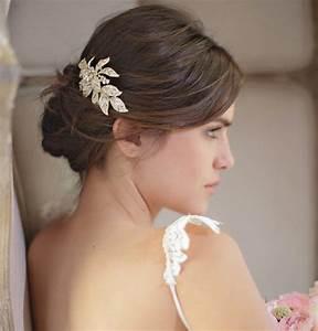 Accessoires Cheveux Courts : les barrettes comme accessoire de coiffure de mari e marie claire ~ Preciouscoupons.com Idées de Décoration