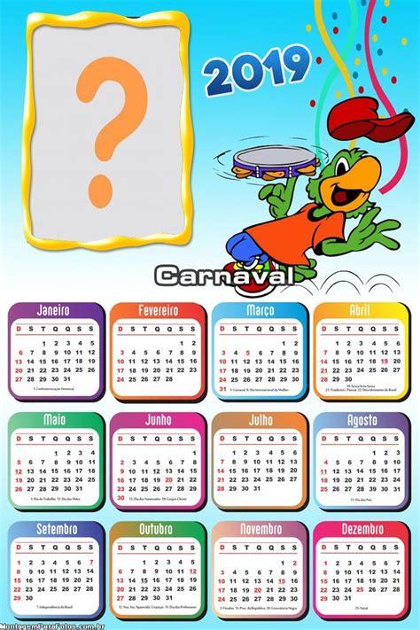 calendario ze carioca carnaval montagem fotos