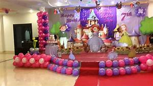 Sofia the first birthday theme - YouTube