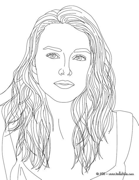keira knightley coloring page  famous people coloring