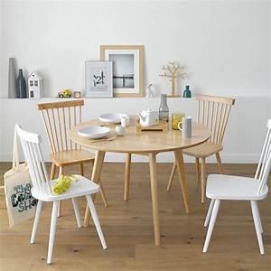 Table Cuisine Scandinave : table ronde scandinave top 10 des mod les pour salle manger ~ Melissatoandfro.com Idées de Décoration
