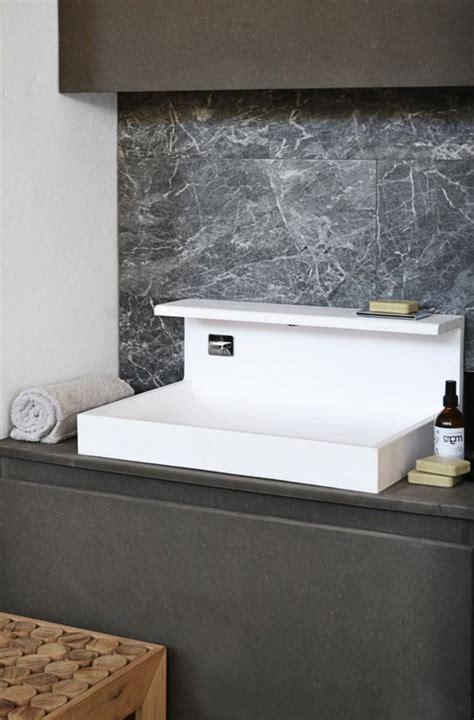 evier cuisine à poser sur meuble la vasque à poser rectangulaire en 67 photos inspirantes