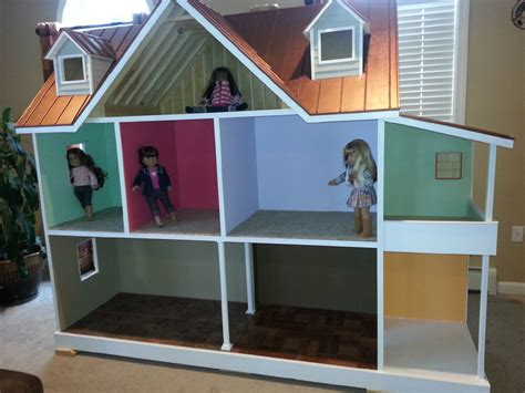 18 doll house custom built american 18 inch doll house one of a