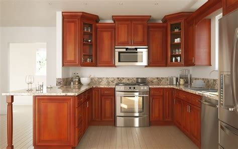 rta stores favorite cabinets  january   chill   winter  warm cherry