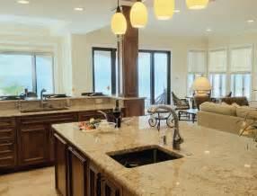 open floor plan living room and kitchen 1085