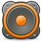 Clipart Speakers Speaker Clip Orange Computer Domain