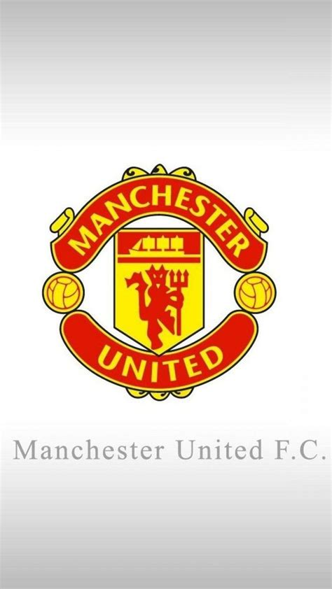 apple iphone 6 plus hd wallpaper manchester united logo in white background appleiphone6plus