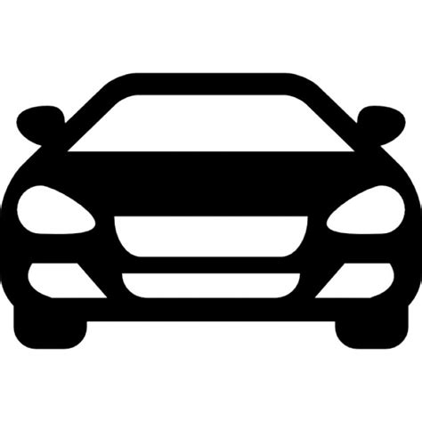 Car Icons by Sedan Car Front Icons Free