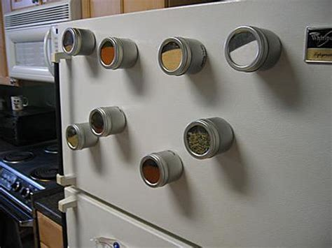 Magnetic Spice Rack For Refrigerator by Furniture For Small Spaces 11 Magnetic Spice Racks