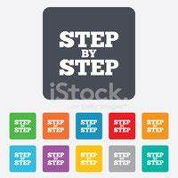 Step BY Step Sign Instructions stock vectors - Clipart.me