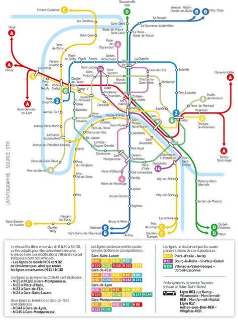 La Carte De Metro Rer by Carte Du Metro Et Rer De The Best Cart