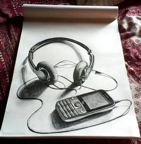 drawing pencil 30 beautiful 3d drawings 3d pencil drawings and works 3d
