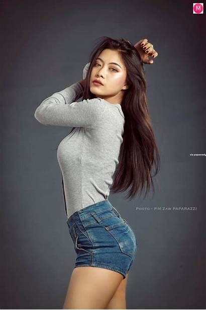 Win Hlaing Su Sensation Aung Myanmar Dancer