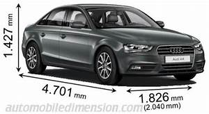 Dimension Audi A4 : dimensions des voitures audi longueur x largeur x hauteur ~ Medecine-chirurgie-esthetiques.com Avis de Voitures