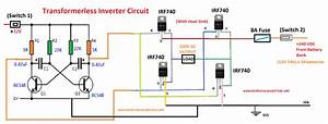 Basic Inverter Circuit Diagram