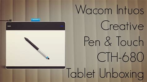 cth intuos wacom tablet pen creative touch