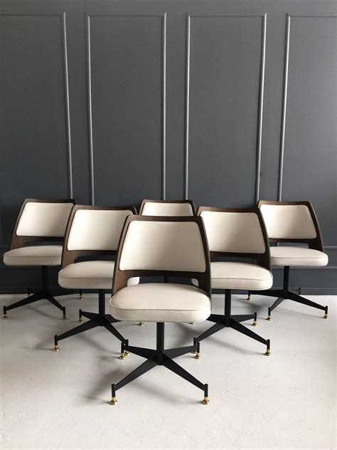 Vintage Brody Chairs 1950s Chicago Mid Century Swag