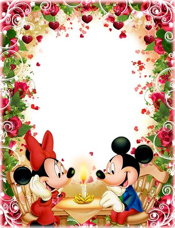 Loonapix Cornici Cornici Foto Dinner Of Mickey And Minnie Mouse