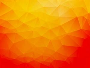 Orange Abstract Geometric Background | Free Vector ...