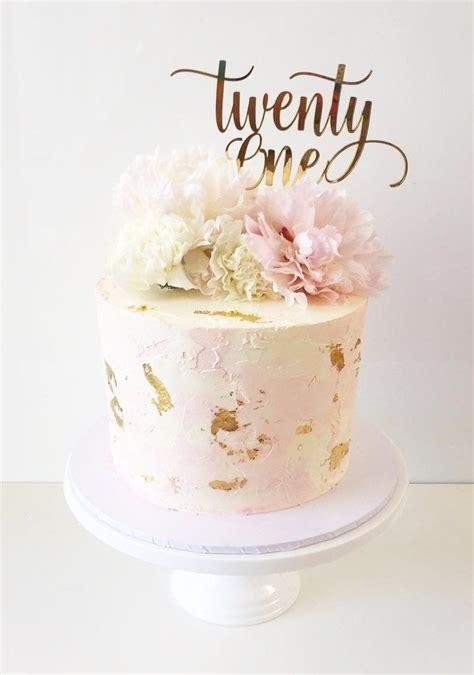 twenty  swirl cake topper   st birthday