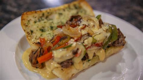 Garlic Bread Cheese Steak   Turano Baking Co