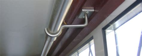 twisted weld curtain rails