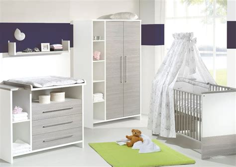 ensemble chambre bebe chambre bébé lit commode eco silber schardt lit et