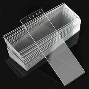 Diamond White Glass Plain Microscope Slides 90° Ground ...