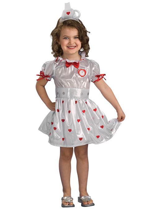 Tin Girl Costume for Toddlers - Girls Tin Man Halloween Costumes
