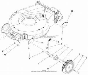 Toro 20057  Super Recycler Lawn Mower  2005  Sn 250000001