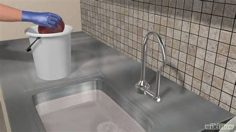 unclogging a kitchen sink 3 ways to unclog a kitchen sink wikihow 6495