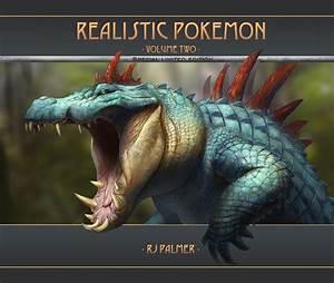 Realistic Pokemon-Volume Two Art Book – Art of RJ Palmer  Realistic