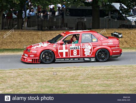 alfa romeo   ti dtm touring race car  goodwood