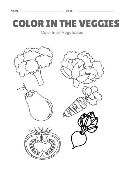 kids  vegetables themed activities  craft