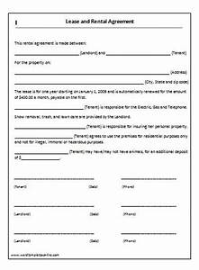 Rental agreement forms lease agreement form copter for Rent to buy contract template