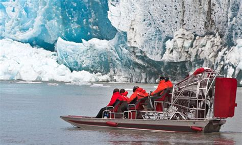Airboat Juneau by Taku Glacier Adventure By Air Water Juneau Tours