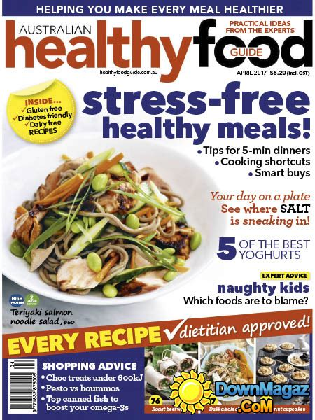 guide cuisine magazine healthy food guide au 04 2017 pdf magazines