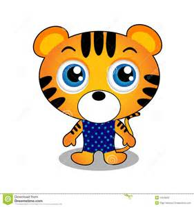 Cute Tiger Characters