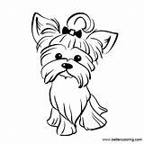 Yorkie Coloring Pages Drawing Printable Line Dog Terrier Poo Paintingvalley Adults Sketch Explore Paintingvalleycom Drawings Template Credit Larger Clipartmag Templates sketch template