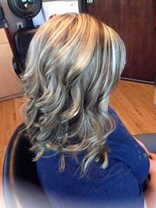 Blonde highlights/ brown lowlights curls | Hair by Melissa ...