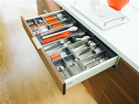 Painted Kitchen Cabinet Ideas - blum orga line cutlery tray tandembox intivo 450mm deep