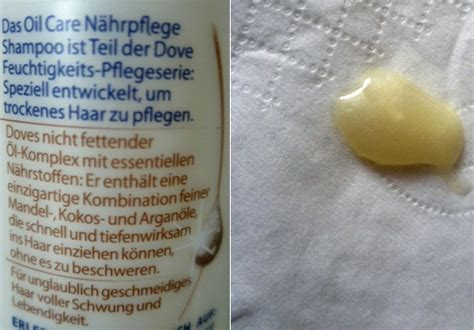 test shampoo dove hair therapy oil care naehrpflege
