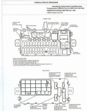 1996 Honda Accord Fuse Panel Diagram 44390 Ciboperlamenteblog It