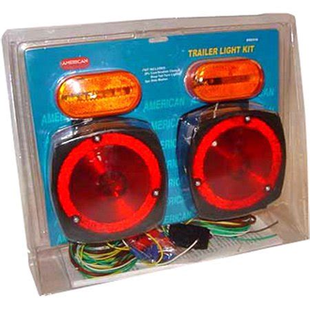 walmart trailer lights trailer light kit marker stop wiring harness boat