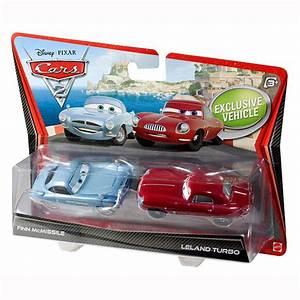 Disney Cars Toys - Finn McMissile and Leland Turbo Die ...