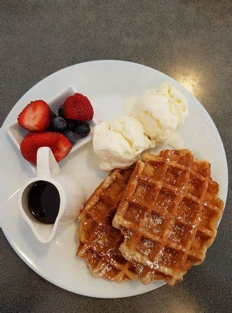 Delicious Waffles At An Affordable Price  Picture Of