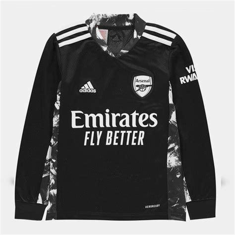 Arsenal Gardien de but Maillot de foot 2017 - 2018 ...