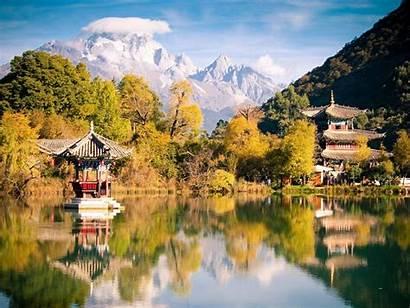 Landscape Yunnan Lijiang China Natural 10wallpaper