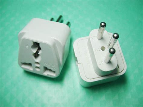switzerland plug adapter accepts universal input
