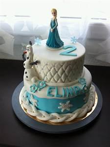 Gâteau Reine Des Neiges : cake design la reine des neiges chut je cuisine ~ Farleysfitness.com Idées de Décoration